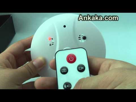 Smoke Detector with Hidden Camera - Waterproof Night Vision   Smoke Detector Hidden Camera Review