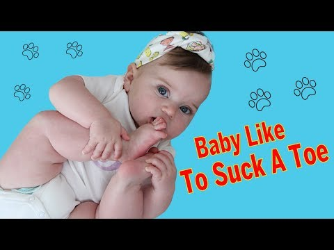 Try Not to Laugh - CUTE Babies Likes To Suck A Toe || BEST Babies Video Compilation (видео)