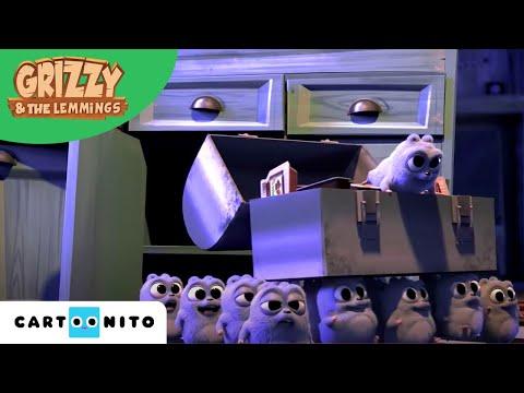 Grizzy en de Lemmings | Baby Grizzy | Boomerang