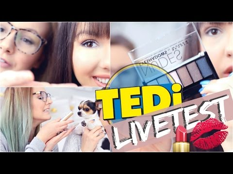 TEDI SCHMINKE LIVE TEST ✅ 1€ Shop | ViktoriaSarina