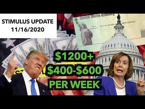 THIS IS BAD! Stimulus Check 2 & Second Stimulus Package Update November 16 2020