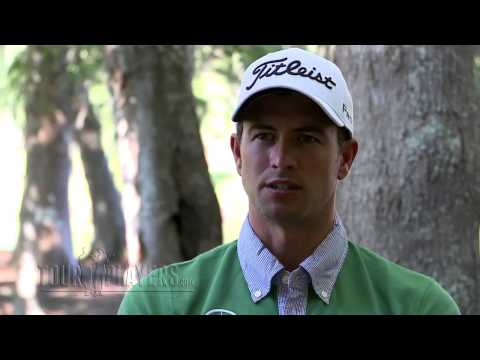 Adam Scott - 2013 Masters -- Adam Scott beat Angel Cabrera in a two-hole playoff to win the coveted green jacket and became the first Australian to win at Augusta Nationa...