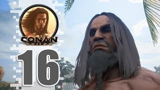 SAFER THAN I THOUGHT! - EP16 - Conan Exiles (Removing The Bracelet)
