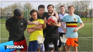 Video THE LAYOFF FOOTBALL CHALLENGE MP3, 3GP, MP4, WEBM, AVI, FLV Desember 2018