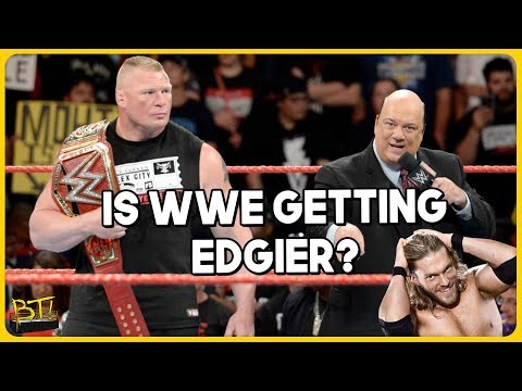 Is WWE Getting Edgier? (видео)