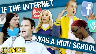 If The Internet Was a High School