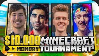 $10,000 HUNGER GAMES vs Lachlan, Ninja, MrBeast & more! (Minecraft Monday)
