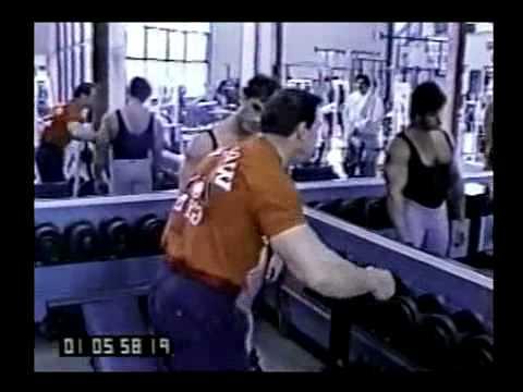 Ларри Скотт. Тренировка плеч.