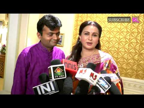 Poonam Dhillon Celebrating Raksha Bandhan