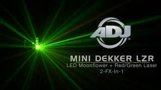 Download Lagu American DJ Mini Dekker LZR Moonflower & Laser Effect Light Mp3