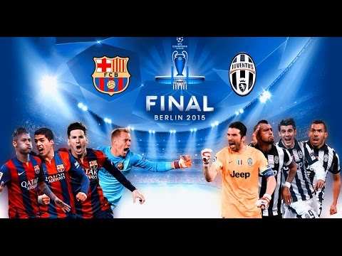Pes 2015 Barcelona X Juventus UEFA Champions League * [ FINAL ]*