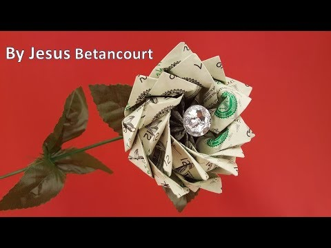 Easy And Beautiful Money Flower Origami Dollar Tutorial Nprokuda