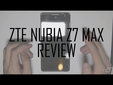 ZTE Nubia Z7 Max Review (видео)