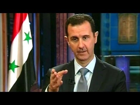 Bashar Assad - Assad: We want to 'fully' cooperate with weapons agreement. Part 1 of exclusive interview with Syrian leader.