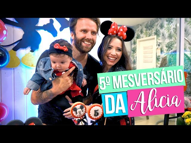 5º MESVERSÁRIO DA ALICIA - Taciele Alcolea