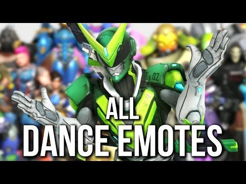 Overwatch Anniversary All Dance Emotes 994 Mb Wallpaper