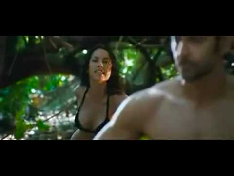 erosentertainment - I love amerodd music and now plot of the trailer:- Cast: Hrithik Roshan,Barbara Mori, Kangna Ranaut, Luce Rains. In the harsh terrain of the Mexican desert, ...