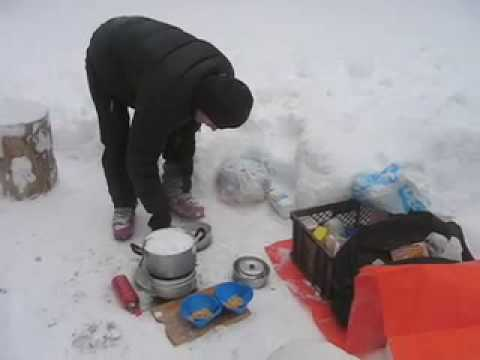 Winter Camping Tips - Breakfast