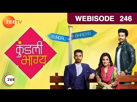 Kundali Bhagya - Sherlyn Falls On Ground - Episode 246 - Webisode | Zee Tv