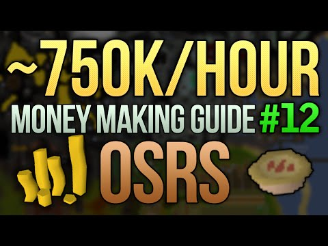 [OSRS] ~750K/Hour Money Making Guide (High Cooking Method) (#12) (видео)
