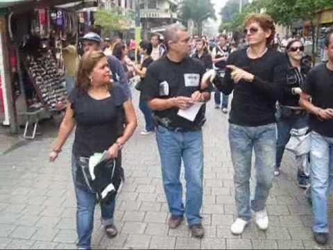 La marcha del Día Internacional de Sordo (1 Parte) Medellin - Colombia