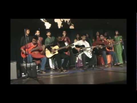 Teer Hara ei dheuer shagor and Bangladesh fusion by BSO At UTA.mp4