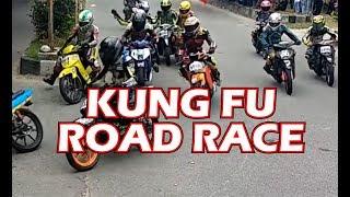 Video WOW!!! ROAD RACE PAKE JURUS KUNGFU MP3, 3GP, MP4, WEBM, AVI, FLV Januari 2019