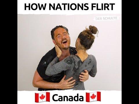 How Nations Flirt - Как флиртуют в разных странах