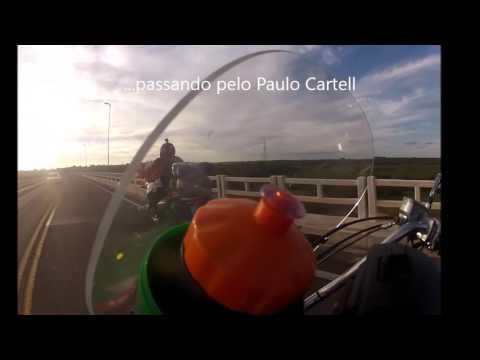 AJ Souza e Paulo Cartell chegando em Rosário do Sul-RS (Brasil)