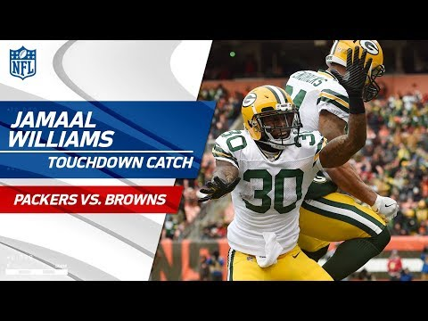 Video: Green Bay's Fake Punt Sets Up Hundley's TD Pass to Williams! | Packers vs. Browns | NFL Wk 14