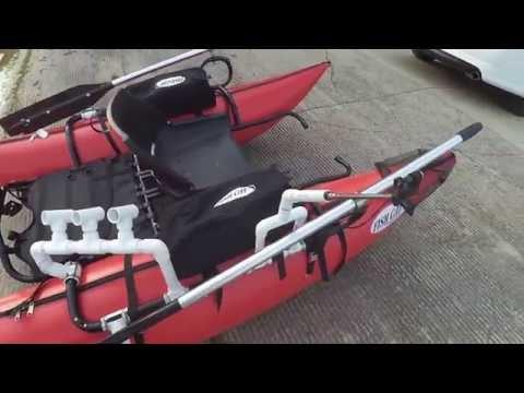 PVC-based customizations to my Outcast Fishcat Streamer XL-IR inflatable pontoon boat