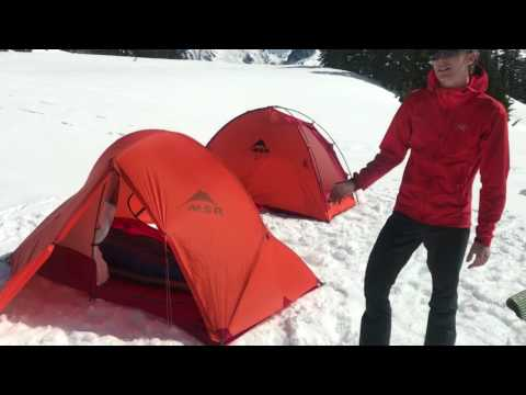 Tents for Mountaineering (видео)
