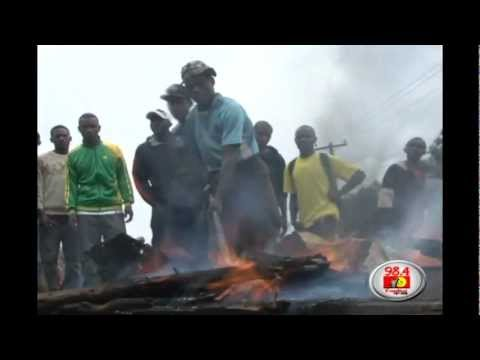 Kiamaiko residents demonstrate over insecurity