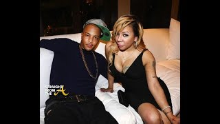 TI posted a long live video in which is was trying to get the baby Heiress to go to sleep. Tiny comes in and shows her man, the...
