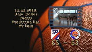kk slodes kk sava 65 63 (kadeti, 16 2 2018 ) košarkaški klub sava