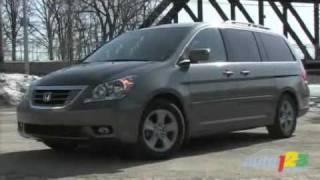 2008 Honda Odyssey Touring Review By Auto123.com