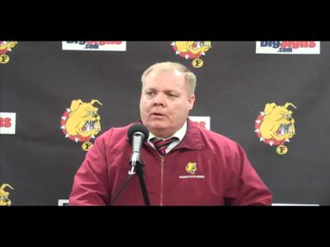 Hockey Head Coach Daniels Post Game 12/3/10