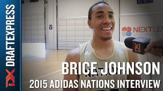 Brice Johnson 2015 Adidas Nations Interview