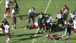 Ronnie Hillman vs Washington State 2011