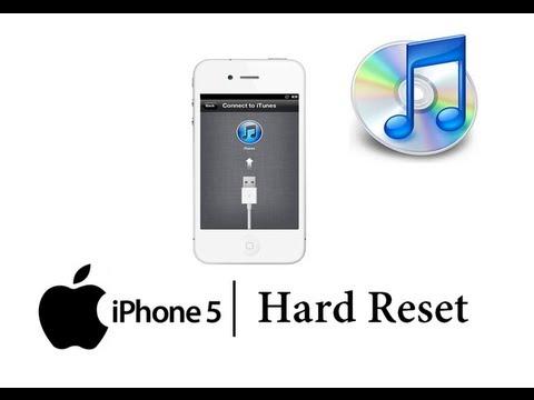 Как сделать reset айфона