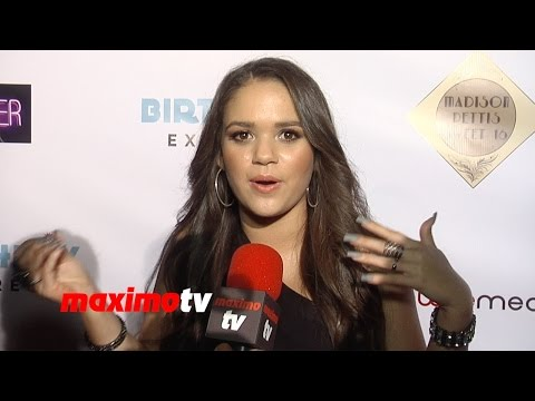 madison - Subscribe! http://bit.ly/mrSda2 Most Viewed Video! http://goo.gl/eVarIi LAB RATS Madison Pettis interview at Madison Pettis Sweet 16! Birthday Party Celebrat...