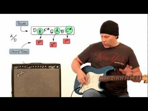 Easy Way To Play Advanced Guitar Chords – Triad Over Bass Note – Part 1 of 3 – Guitar Breakdown