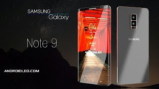 Samsung galaxy Note 9 edge with 12GB RAM, introduction video