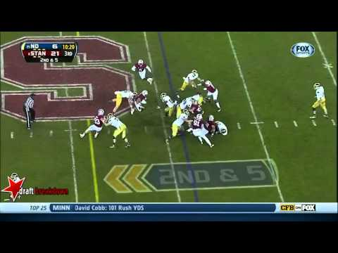Ronnie Stanley vs Stanford 2013 video.