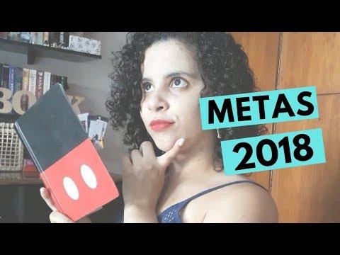 METAS LITERÁRIAS PARA 2018 | Livraneios