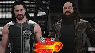 After weeks of clashing, WWE announced that Bray Wyatt and Seth Rollins will go one on one at WWE Great Balls of Fire!If you guys appreciate all the hours and hard work I put into these videos, you have the option to donate to me to support me even more! Donate Link: https://streampro.io/tip/jules1451Show some love by leaving a like, sharing and subscribing for more awesome videos like these!OUTRO MUSIC: Undertaker's Rollin Theme Cover by JAYDEGARROWJAYDEGARROW's YouTube: https://www.youtube.com/channel/UCit4zHRRYaU5Og8ZHqvA7jQFOLLOW ME HERE:Facebook: https://www.facebook.com/julian.rosado.14Twitter: https://twitter.com/Jules1451Instagram: https://www.instagram.com/jules1451/Snapchat: @Jules1451Want to see more WWE 2K16 & WWE 2K17 Content? Visit this link for more! http://www.thesmackdownhotel.com