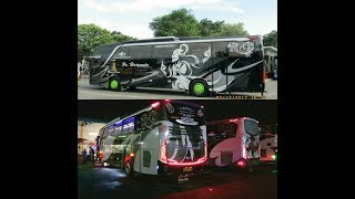 Video duel persahabatan konvoi 3 bus Artis HR 20-Laksmana10-87,, MP3, 3GP, MP4, WEBM, AVI, FLV Desember 2017