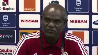 Ethiopia's Coach Sewnet Bishaw Press Conference About Ethiopia Vs. Nigeria Game