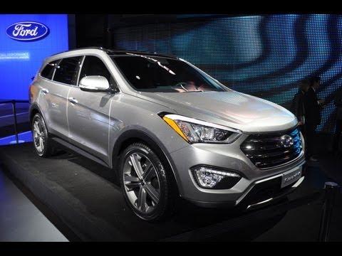 Hyundai  2013 Hyundai Santa Fe -- 2012 New York Auto Show