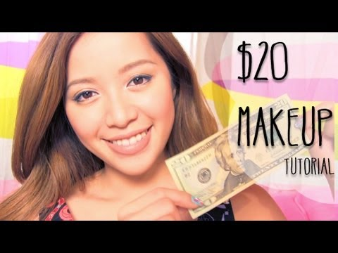 $20 Makeup Challenge Tutorial